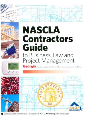 Pdf Engineering NASCLA Contractors Guide to Business, Law and Project Management (Georgia 2nd Edition)