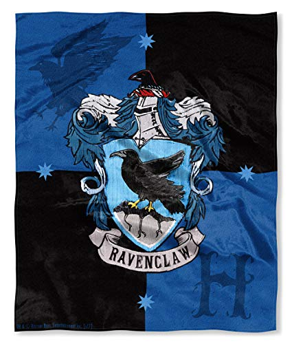 Harry Potter Ravenclaw House Crest Silk Touch Throw 50