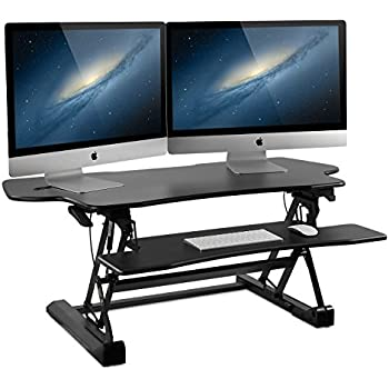 Amazon Com Mount It Large Standing Desk 48 Inch Extra