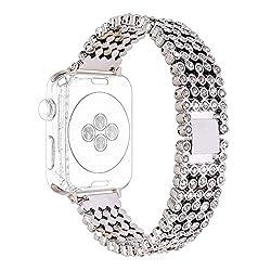 Women Crystal Rhinestone Diamond Watch Bands