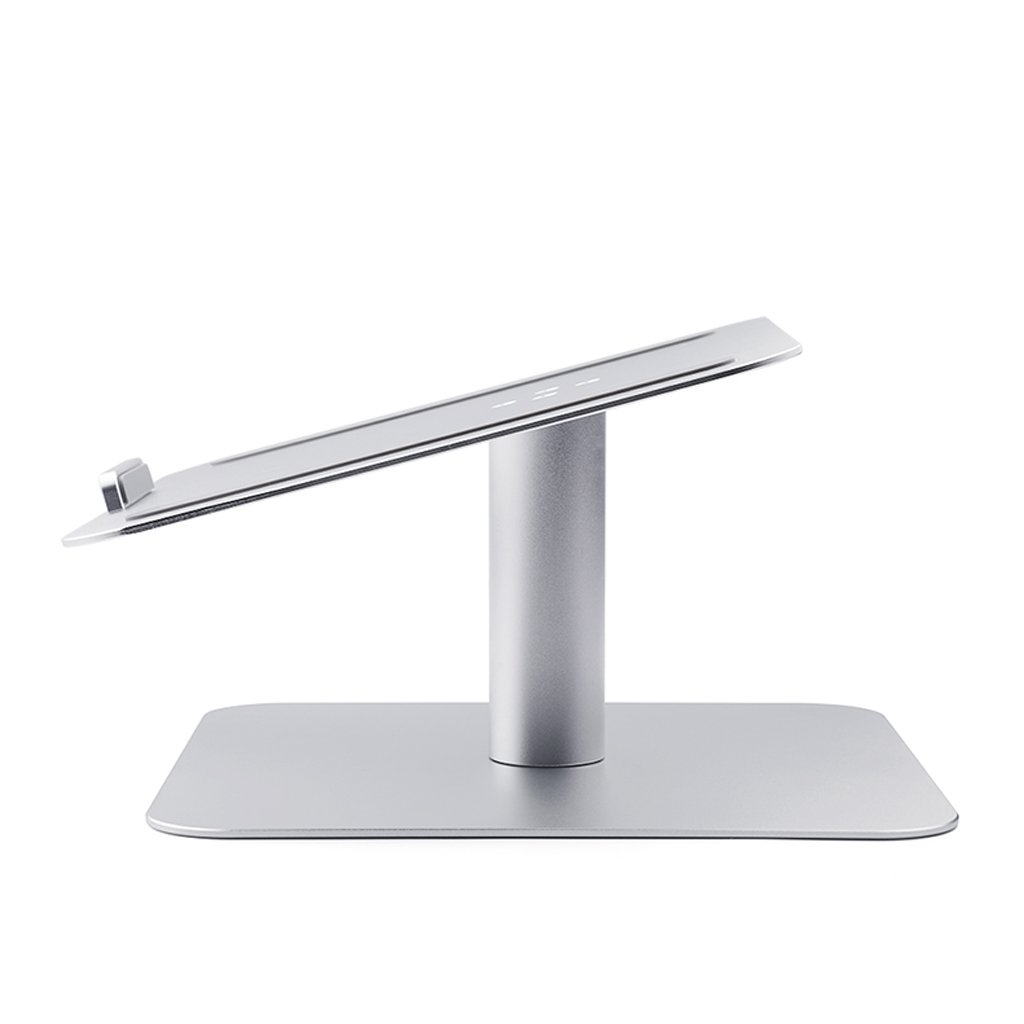 XY Soap dish Rotary Notebook Laptop Creative Stand Holder, Apple Radiator Base Desktop Aluminum Notebook Desktop, Aluminum Notebook Base Creative Holder, 26cm16cm9.3cm by XY Soap dish (Image #4)