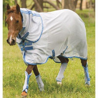 amiGO Fly Boots Horse Azure Blue/Baby Blue by amiGO