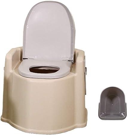 WC Port/átil para Camping Inodoro WC Cubo De Viaje Camping WC Port/átil para Camping con Extra/íble Tener Toallero De Papel F/ácil De Limpiar Tama/ño H41.5*D52Cm HYCZW Inodoro Port/átil