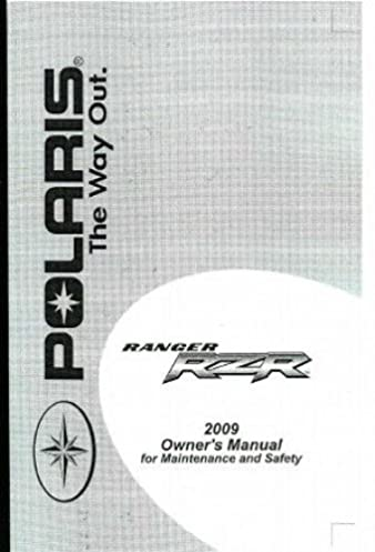 9921878 2009 polaris ranger rzr 800 efi side by sides owners manual rh amazon com Polaris RZR 800 Polaris RZR 800