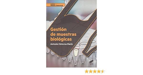 Gestión de muestras biológicas: 51 (Sanidad): Amazon.es: Cistierna ...