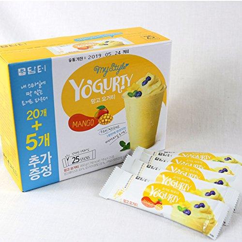 mango and yogurt dressing - 1