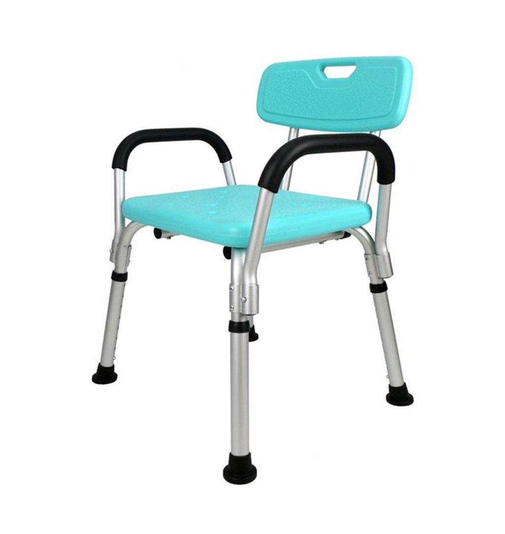 お気に入り 高齢者のためのバスルームシャワーチェアアルミニウム合金バスチェア妊婦用ノンスリップ - - グリーン - 耐荷重100kg 耐荷重100kg - B07DPN27J2, ケンブチチョウ:7b2eed38 --- zsakgyar.hu