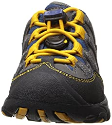 KEEN Pagosa Low WP Hiking Shoe (Toddler/Little Kid), Magnet/Golden Yellow, 10 M US Toddler
