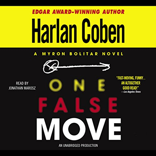 Bargain Audio Book - One False Move  A Myron Bolitar Novel