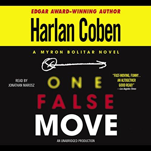 Bargain Audio Book - One False Move  A Myron Bolitar Novel