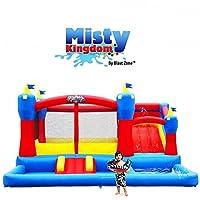 Bouncer inflable Misty Kingdom de Blast Zone - Parque acuático con tobogán por Blast Zone