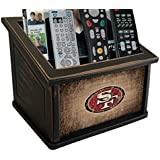 Fan Creations N0765-SFF San Francisco 49ers Woodgrain Media Organizer, Multicolored