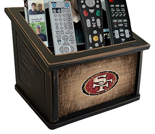 Fan Creations N0765-SFF San Francisco 49ers Woodgrain Media Organizer, Multicolored by Fan Creations
