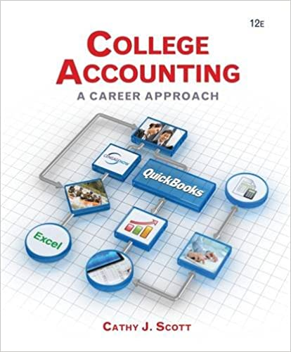 Workbook custom handwriting worksheets : College Accounting: A Career Approach (with Quickbooks Accounting ...