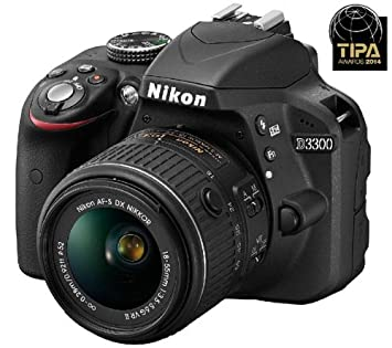 Nikon VBA390K001 - D3300 - cámara de fotos digital + objetivo af-s ...