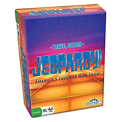 Jeopardy the Card Game - Travel Quiz Game With 108 Answers and Questions - Ages 12+: Toys & Games