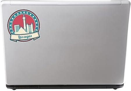 2 x Las Vegas Nevada USA Vinyl Sticker Laptop Travel Luggage Car #6746