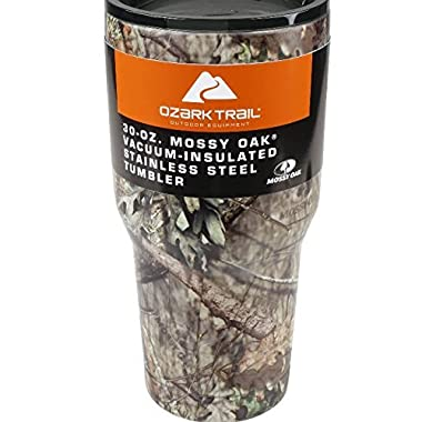 Ozark Trail Vacuum Insulated Stainless Steel 30 Ounce Tumbler (Mossy Oak)