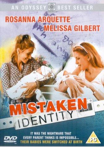 Mistaken Identity DVD Amazoncouk Melissa Gilbert Rosanna Arquette James McCaffrey David Andrews Mary Mara Susan Barnes Robert Blanche