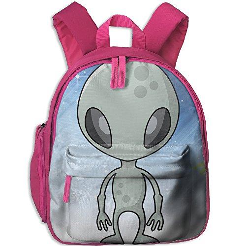 Mars Attacks Martian Girl Costume - Alien With Ray Gun Children Polyester Oxford Backpack,Bag For Boys