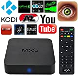 PGKMALL Android 4.4.2 Smart TV Box Fun Center S805 Quad-core 1GB RAM 8GB Support 1080p Internet TV H.265 WiFi LAN Miracast Airplay Stream Media Player
