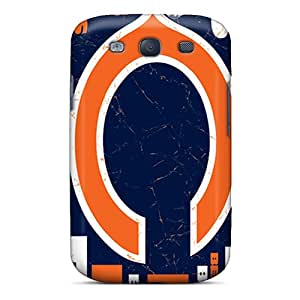 Cute Tpu Hellocases Chicago Bears Case Cover For Galaxy S3