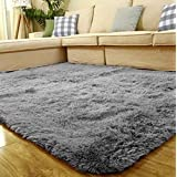 Soft Foam Shaggy Rug Non Slip Bedroom Memory Mat Batn Bathroom Shower Carpet Colors:Gray 50*80cm/1.6*2.6ft