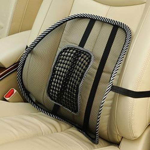 Lumbar Back Massage Mesh Brace Support Office Home Car Seat Chair Back Cushion qsbai by qsbai (Image #3)