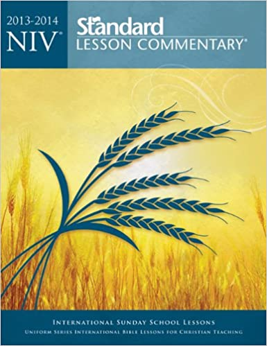 Niv Standard Lesson Commentary Paperback Edition 20132014