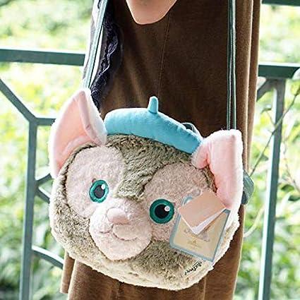 Jewh New Big Duffy Bear Friend Gelatoni Japanese Anime Plush Backpak Cute Cat Shoulder Bag