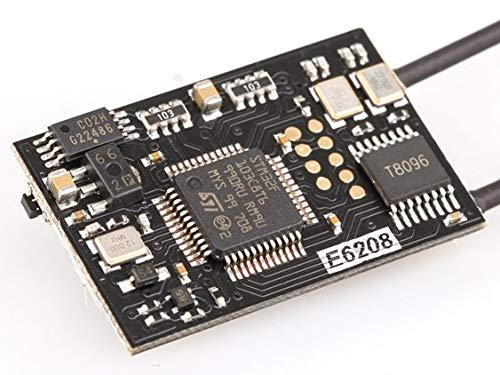 SAUJNN Receivers 2.4Ghz E6208 SBUS Output Board Compatible Futaba Fasst R6208SB