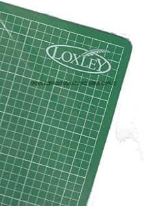 Loxley corte alfombra tamaño A2 - color verde auto curación