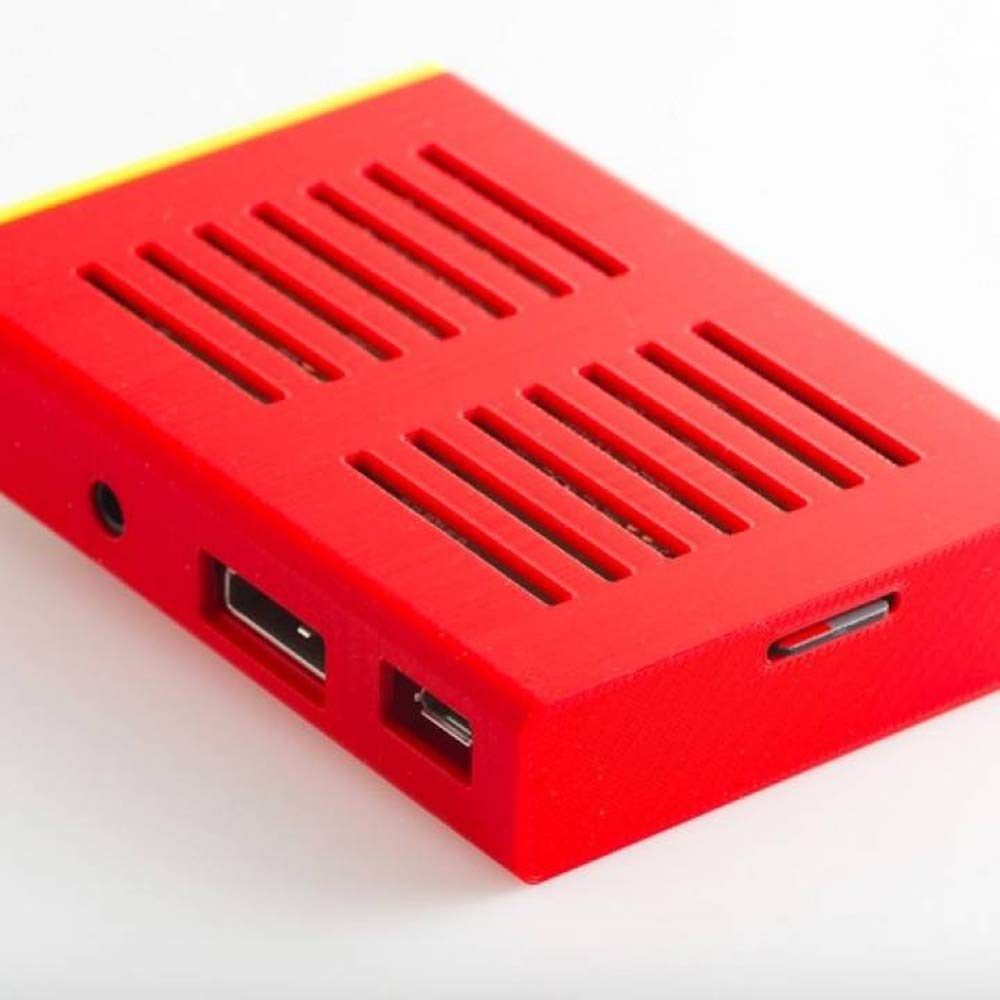 Sleeve Case for Raspberry Pi B Sturdy Thick Enclosure 12 Colors 3D-Printed