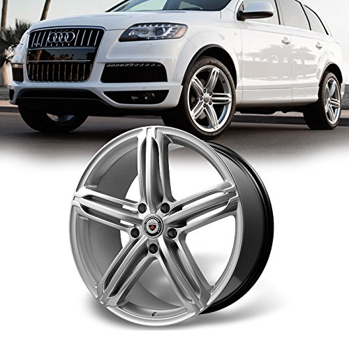 For 1PC NEW 21'x9.5' 5x130mm Silver Alloy Car Wheel/Rim for VW Audi Porsche 21-9.5 5-130