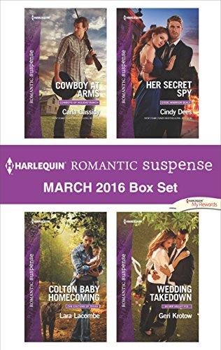 book cover of Harlequin Romantic Suspense March 2016 Box Set