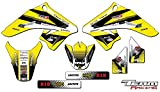 Team Racing Graphics kit for All Years Suzuki DRZ 70, ANALOGBase kit