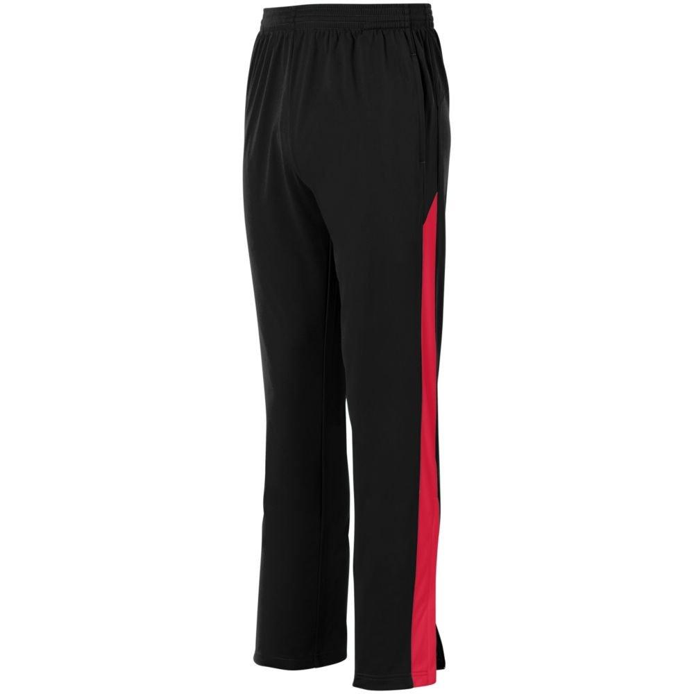 Augusta Activewear PANTS メンズ B079ZLM3WN XXX-Large|ブラック/レッド ブラック/レッド XXX-Large