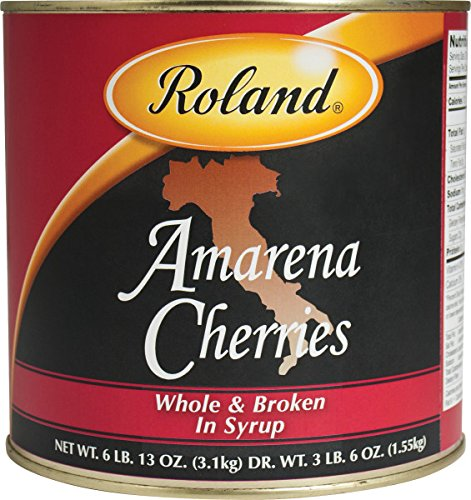 Roland Foods Amarena Cherries in Syrup, 109 Ounce