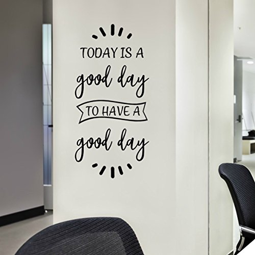 (VinylWritten, Today Is A Good Day Wall Art, Positive Inspirational Quotes Decals and Sayings Stickers, 12