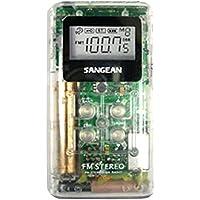 Sangean America DT-120CL AM/FM Pocket Radio Clear
