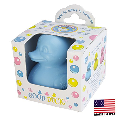 celebriducks-the-good-duck-blue-rubber-ducky-teether-made-in-usa