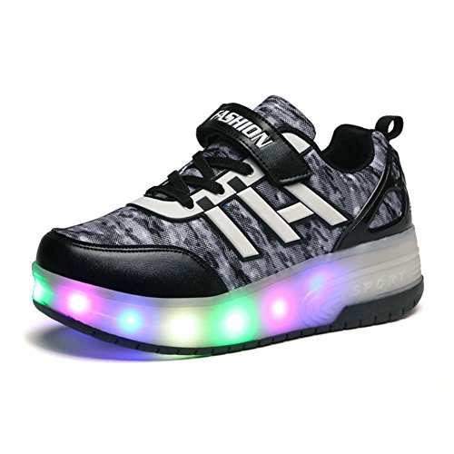 shining-way-unisex-adults-led-skate-adjustable-trainer-kids-boy-wheels-shoes-girl-flashing-roller-sk