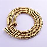 SHUTAO 1.5m gold shower hose