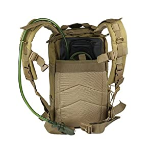 ZHOL® Sport Outdoor Military Rucksacks Tactical Molle Backpack Camping Hiking Trekking Bag (Cp Camouflage)