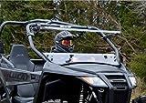 SuperATV Arctic Cat Wildcat Trail / Sport Scratch Resistant Clear Flip Windshield