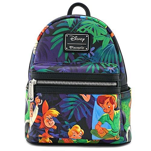 Loungefly Peter Pan Print Mini Backpack -