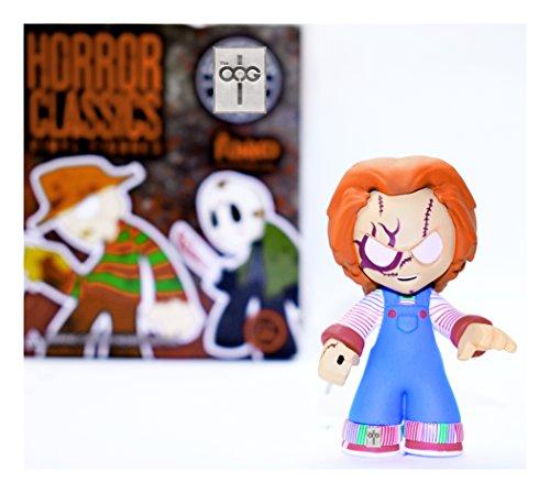 Funko Mystery Mini - Horror Classics [Series 1] - Chucky [With Scars] 1/144 Rarity [SUPER RARE!]