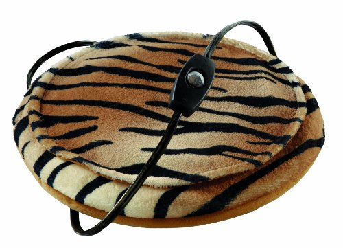 Sunbeam Cozy Spot Heating Pad, Tiger, 10 Inch Diameter