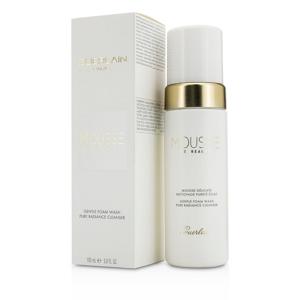 GUERLAIN by Guerlain Pure Radiance Cleanser - Mousse De Beaute Gentle Foam Wash --150ml/5oz for WOMEN ---(Package Of 5)