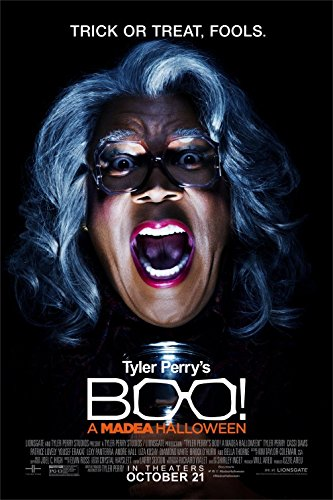 BOO! A MADEA HALLOWEEN Original Movie Poster 27x40 - Dbl-Sided - Tyler Perry - Bella (Bella Thorne Halloween)